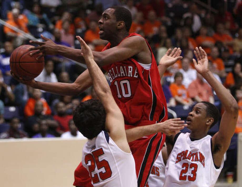 Sheldon McClellan Sr., G, Bellaire  Photo: Melissa Phillip, Houston Chronicle