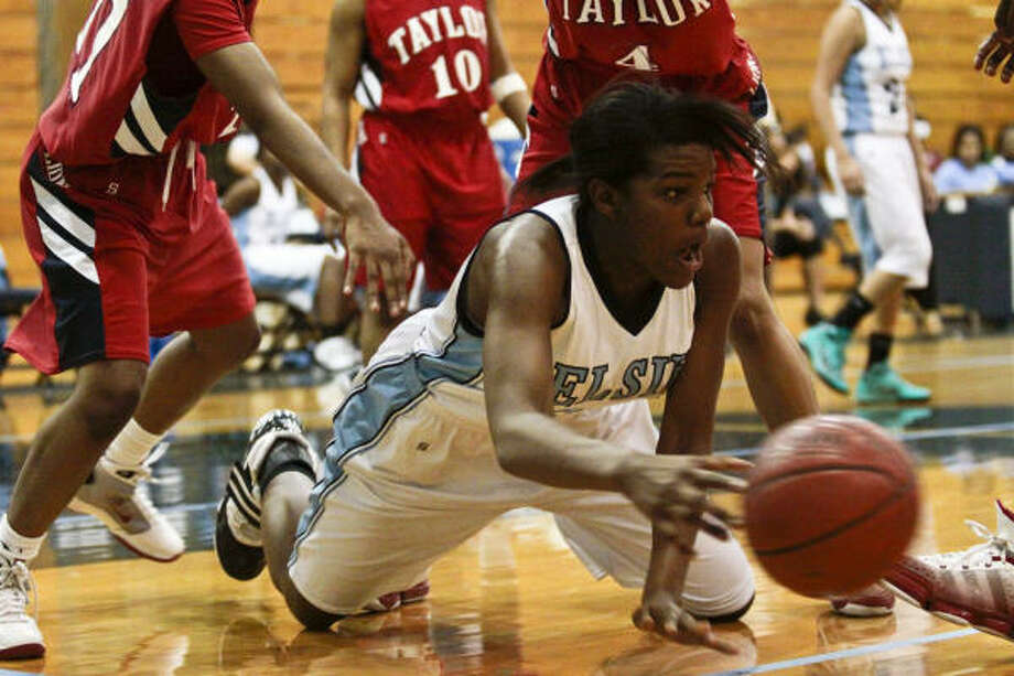First team Crystal Porter Jr., Elsik, post  Photo: Eric Kayne, For The Chronicle