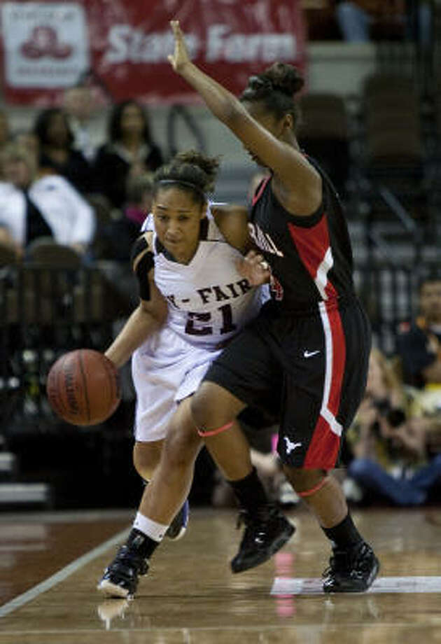 Cassie Peoples Sr., Cy-Fair, guard  Photo: Ben Sklar, For The Chronicle