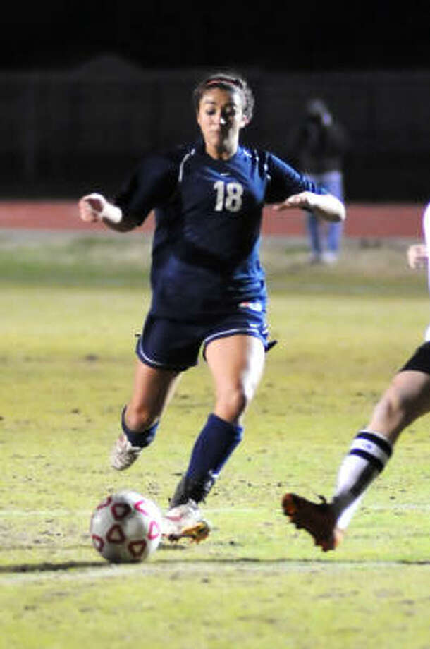 Girls soccer MVPClear Lake's Brittney Wade Photo: Kirk Sides, For The Chronicle
