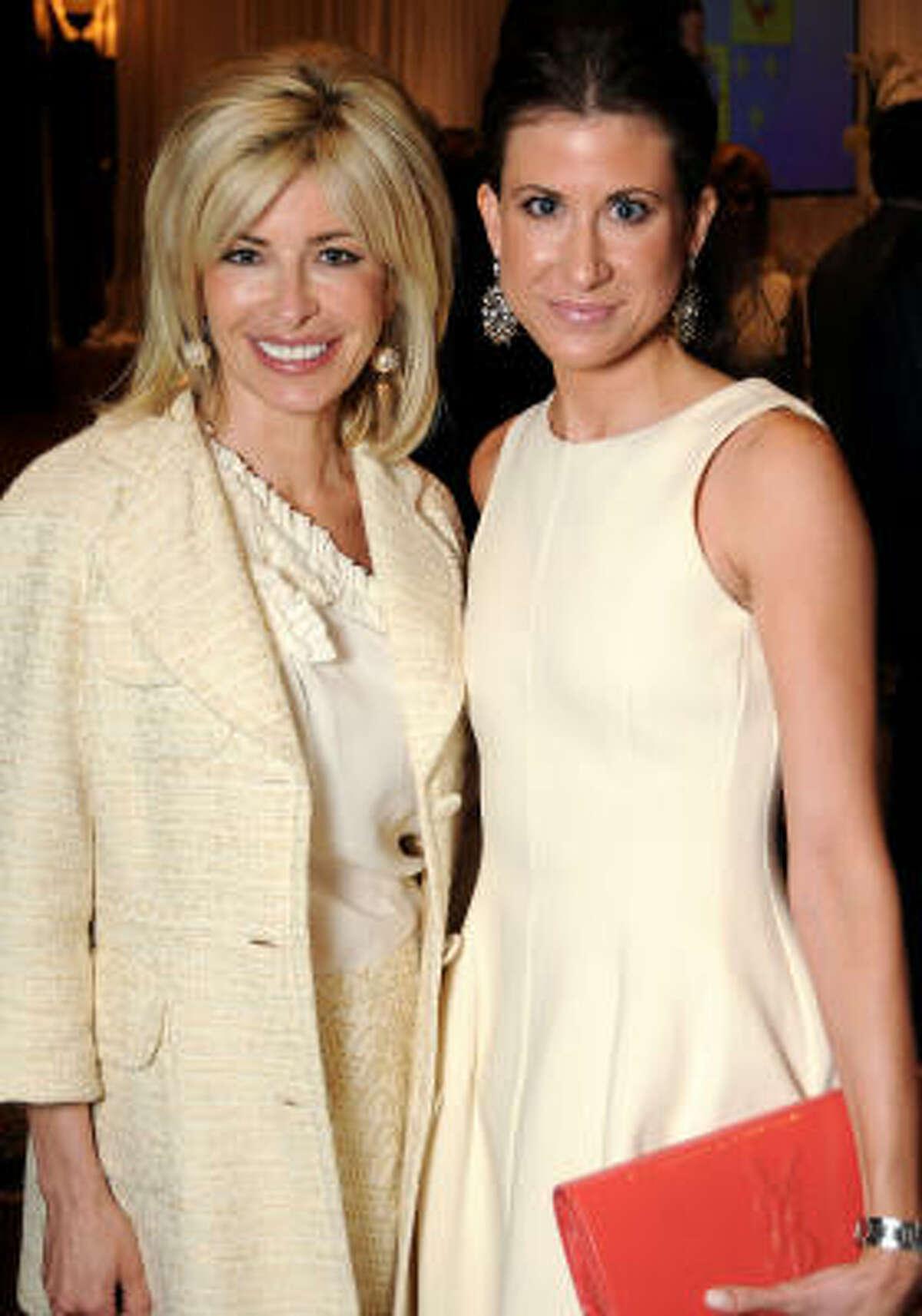 Nancy Golden and Melissa Aron