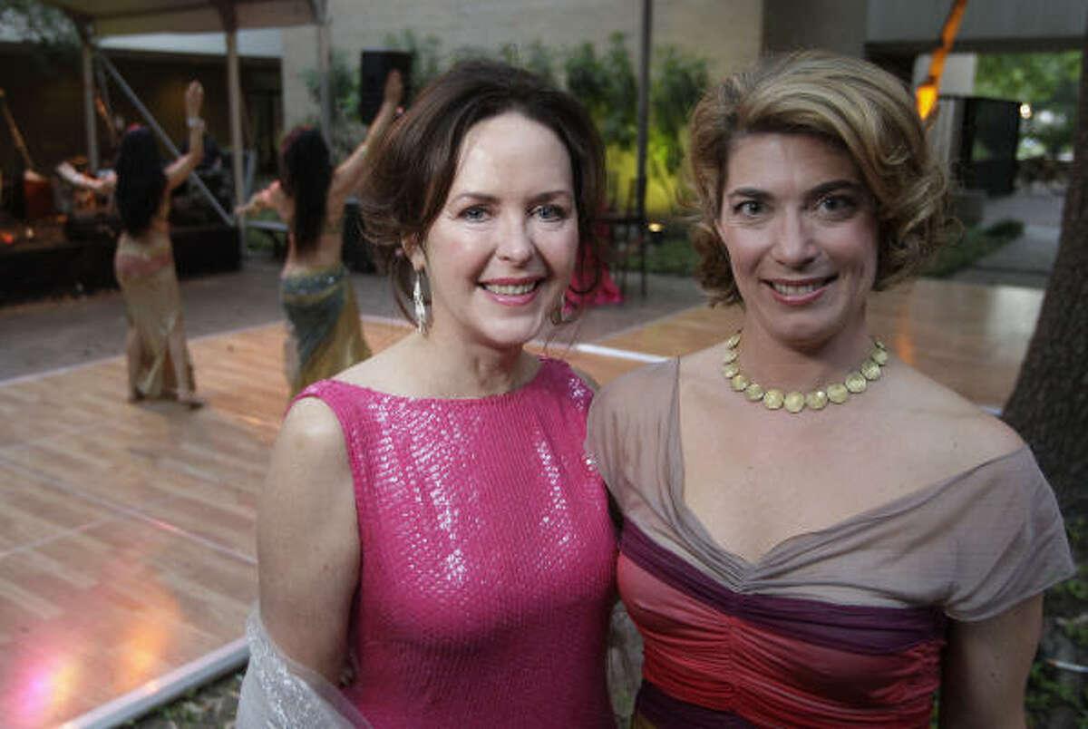 Karen Rozzell and Claudia Schmuckli