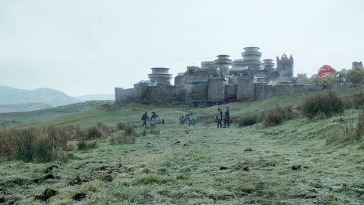 Where: Winterfell What: City that sits south of the wall but still in the northern part of Westeros. It is home to the Stark family. Winters there can last decades.