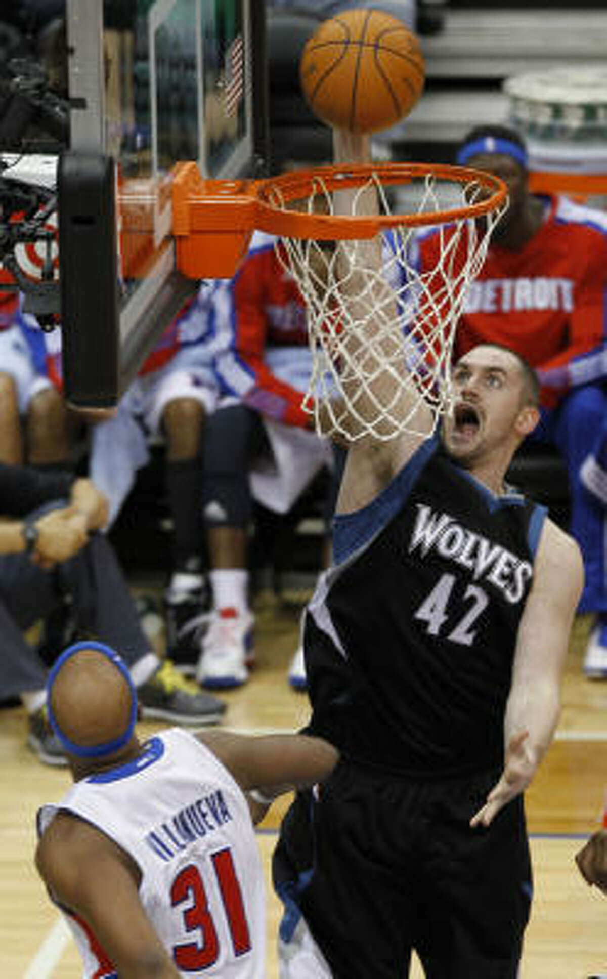 MOST IMPROVED Kevin Love, Minnesota Timberwolves Timberwolves double-double machine put up numbers unseen since Moses Malone.