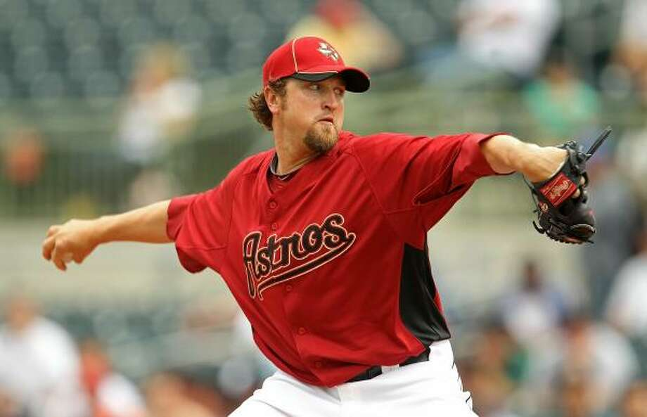 RELIEVERSRHP Brandon LyonNo.: 37Age: 31Ht./wt.: 6-1/200How acquired: Signed as a free agent, December 20092010 stats: 79 G, 6-6, 20 saves, 3.12 ERA, 31 BB, 54 KWhat he brings: Stability to the closer job that the Astros never really had last year with some semblance of a race in spring training and a change to Lyon halfway through the season. Photo: Mike Ehrmann, Getty Images