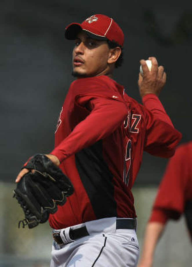 RELIEVERSRHP Aneury RodriguezNo.: 62Age: 23Ht./wt.: 6-4/200How acquired: Rule 5 draft pick from Tampa Bay, 20102010 stats (Rays AA/AAA): 29 G, 19 GS, 3.71 ERA, 51 BB, 100 KWhat he brings: Made the team to be stashed away for the future as a Rule 5 pick, but he can't be hidden. He'll begin as a long reliever as he is seen as a future starter, so his role could change from there. Photo: Karen Warren, Chronicle
