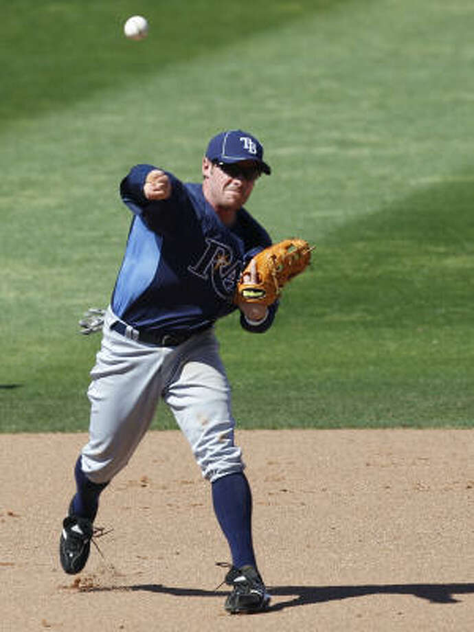 INFIELDERS INF Joe Inglett No.: 3 Age: 32 Bats/Throws: Left/Right Ht./wt.: 5-9/175 How acquired: Traded from Tampa Bay for a player to be named or cash, March 2011 2010 stats (Brewers): 102 G, .254 BA, .331 OBP, .401 SLG, 1 HR, 8 RBI What he brings: A lefthanded bat off the bench on a team that desperately needs one with the balance tipped far to the right side. He won't start much but could get in 100 games or more again. Photo: Kathy Willens, AP