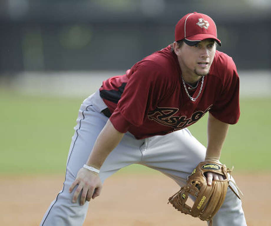 INFIELDERS3B Chris JohnsonNo.: 23Age: 26Bats/Throws: Right/RightHt./wt.: 6-3/220How acquired: Selected in 2006 draft, Round 42010 stats: 94 G, .308 BA, .337 OBP, .481 SLG, 11 HR, 52 RBIWhat he brings: Excitement over his breakout 2010 can only be tempered by skepticism for the foundation on which he built it. More than six times as many strikeouts as walks doesn't bode well, but the ability to drive the ball is undeniable. Photo: Karen Warren, Chronicle