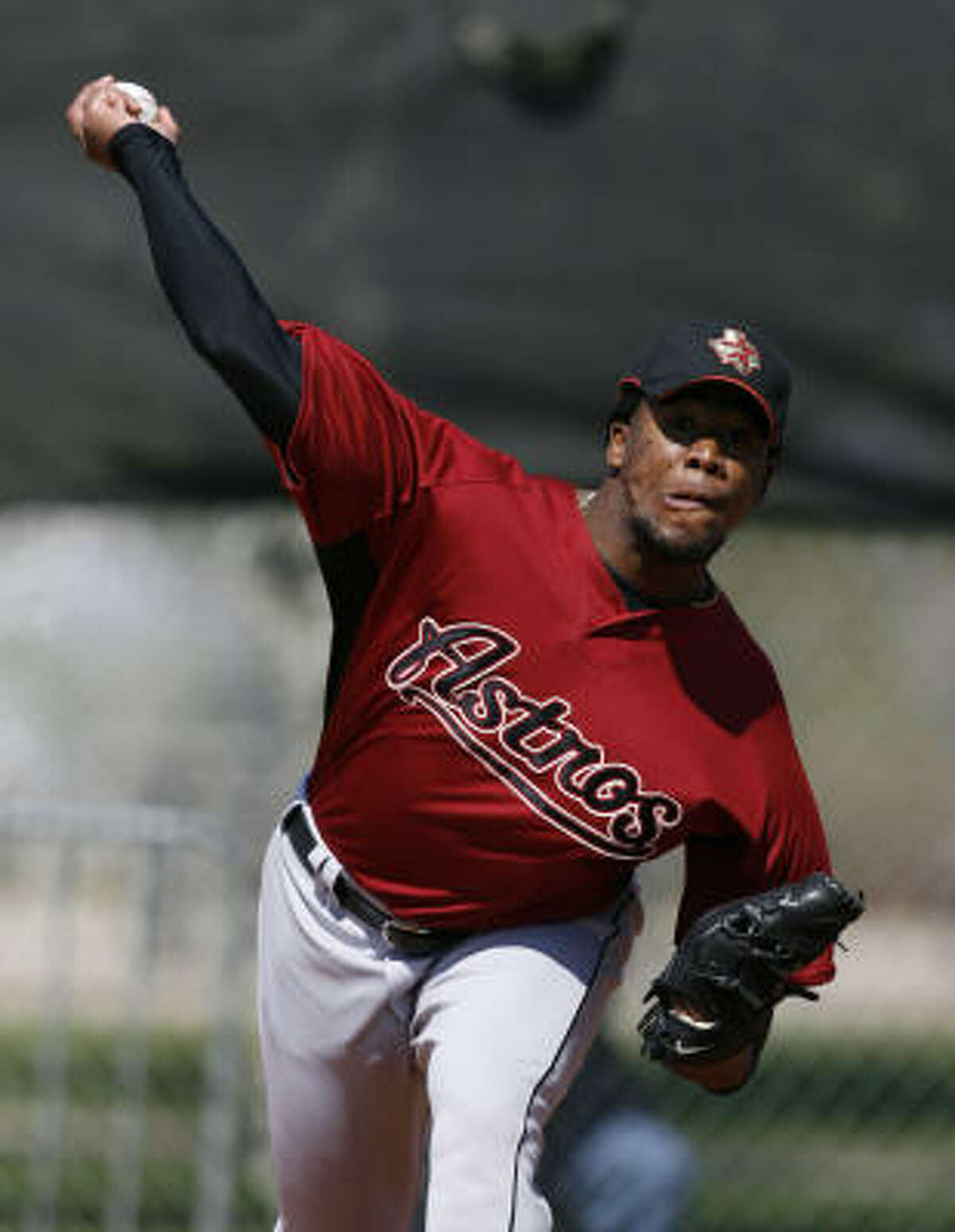RHP Ezequiel Astacio / Taken off waivers by Texas, March 2007 / San Angelo Colts (United League) in 2010