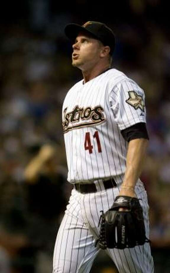 RHP Brandon Backe / Released, July 2009 / Out of baseball, has not retired Photo: Billy Smith II, Chronicle
