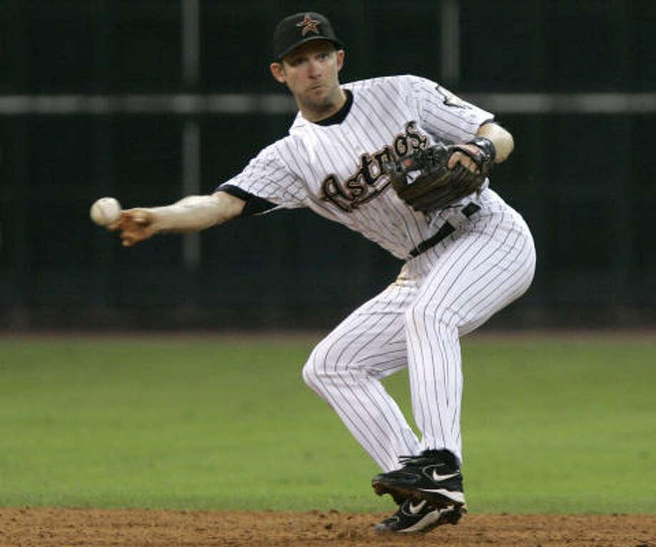 SS Adam Everett / Non-tendered after 2007 / Indians backup infielder Photo: Pat Sullivan, AP
