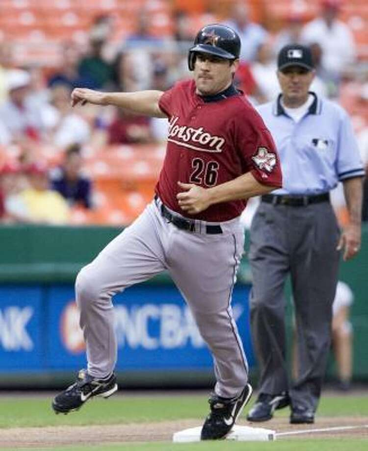 1B Mike Lamb / Free agency after 2007 / Camden Riversharks (Atlantic League) Photo: Manuel Balce Ceneta, AP
