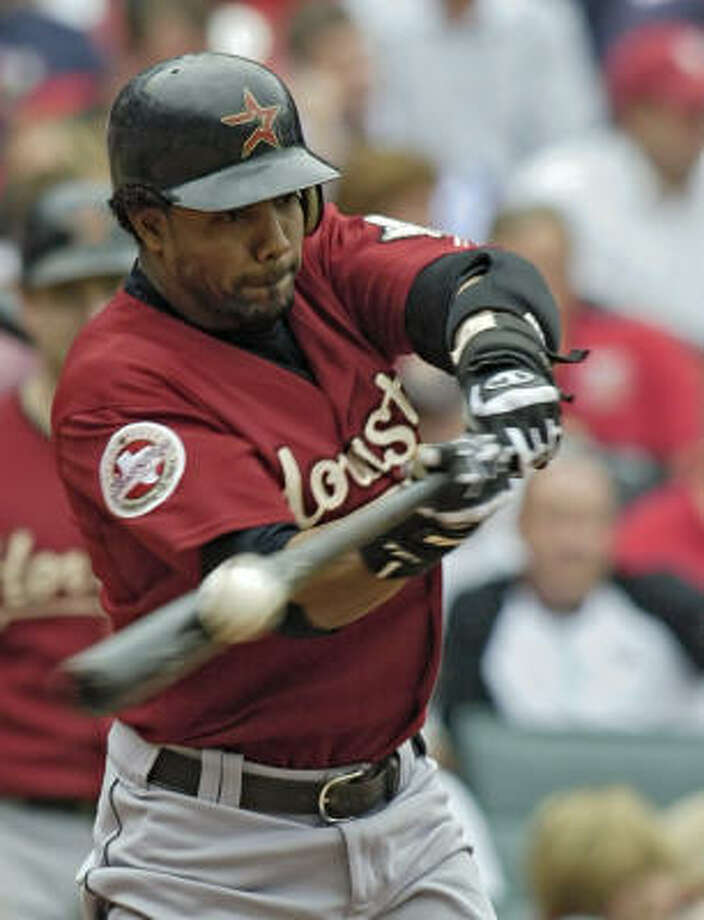 CF Willy Taveras / Traded to Rockies, December 2006 / Rockies minor league outfielder Photo: TOM GANNAM, AP