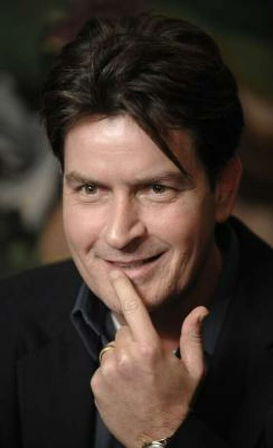 Hasn't been written, but totally should be… Charlie Sheen: Co-parenting with Goddesses  Photo: Chris Pizzello, AP