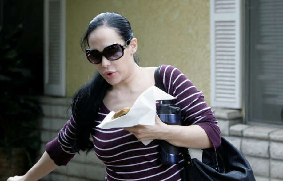 Hasn't been written, but totally should be…Nadya Suleman: How to Conceive Photo: Nick Ut, AP