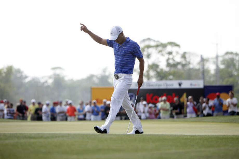Shell Houston Open, today-Sunday: The events start today with a pro-am at the Redstone Golf Tournament Course in Humble. The tournament runs Thursday-Sunday. Photo: Johnny Hanson, Houston Chronicle