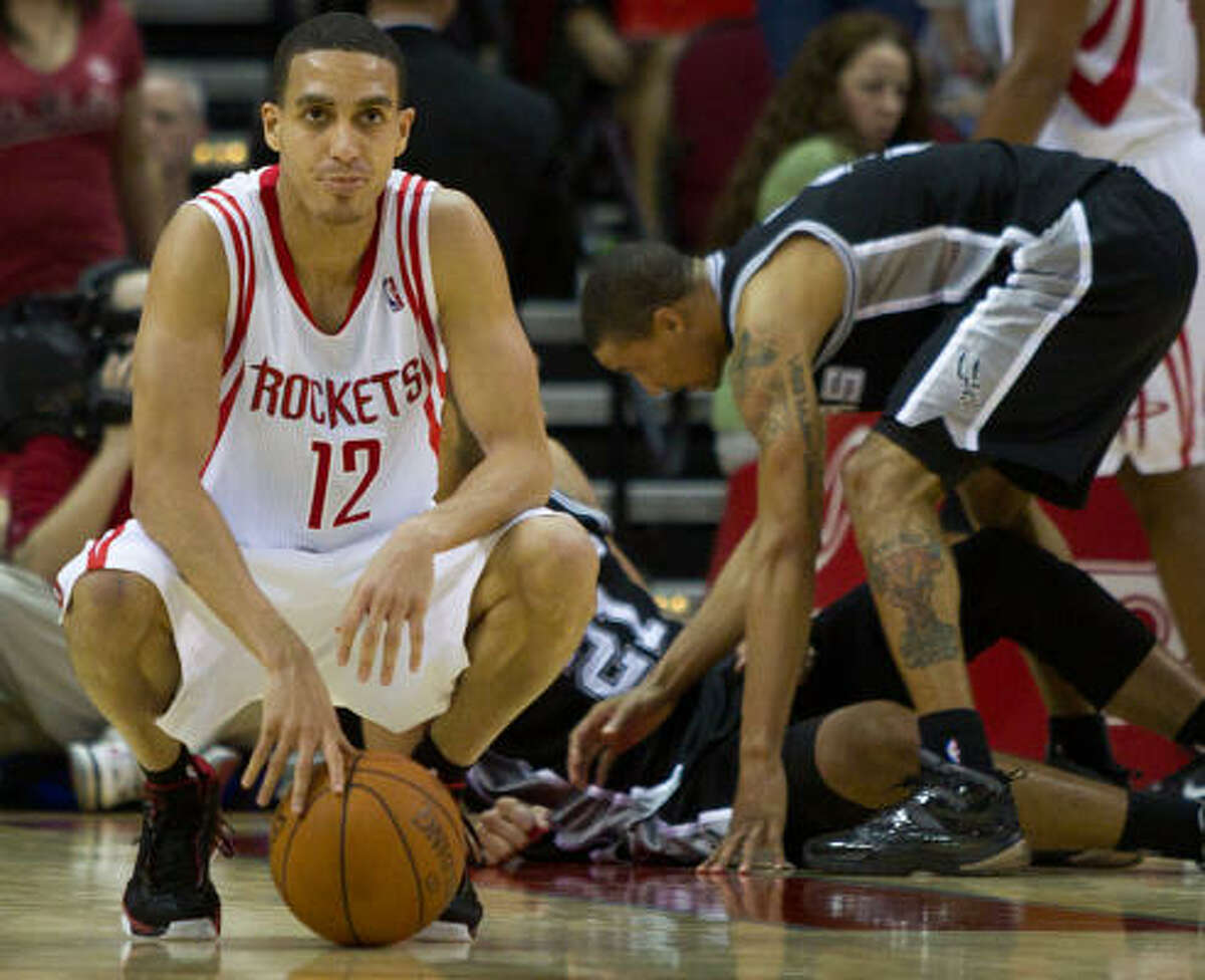 Houston Rockets-San Antonio Spurs, 7:30 p.m Friday The Rockets' path to the playoffs goes through the Spurs, the team with the best record in the NBA.