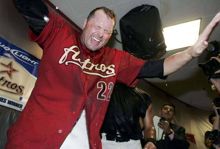 Astros sign Roger ClemensForget what you know about Clemens now and hearken back to the original signing in 2004. Undoubtedly, it was the biggest splash by Drayton McLane and one that got the attention of the baseball world. Photo: Doug Benc, Getty Images