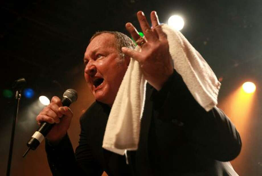 "Randy Quaid recently debuted 'Star Whackers',  a song he wrote about his troubles in the last year and a half. Quaid and his wife, Evi, fled to Canada last year to escape the alleged ""star whackers"" which he claimed were responsible for all the couple's U.S. legal woes. Photo: Darryl Dyck, ASSOCIATED PRESS"