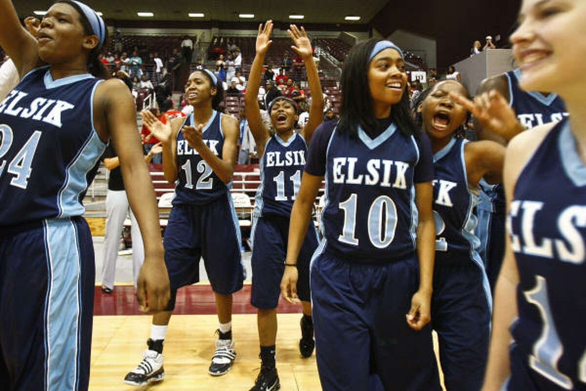 The Elsik Rams were all smiles after Saturday's win over North Shore.