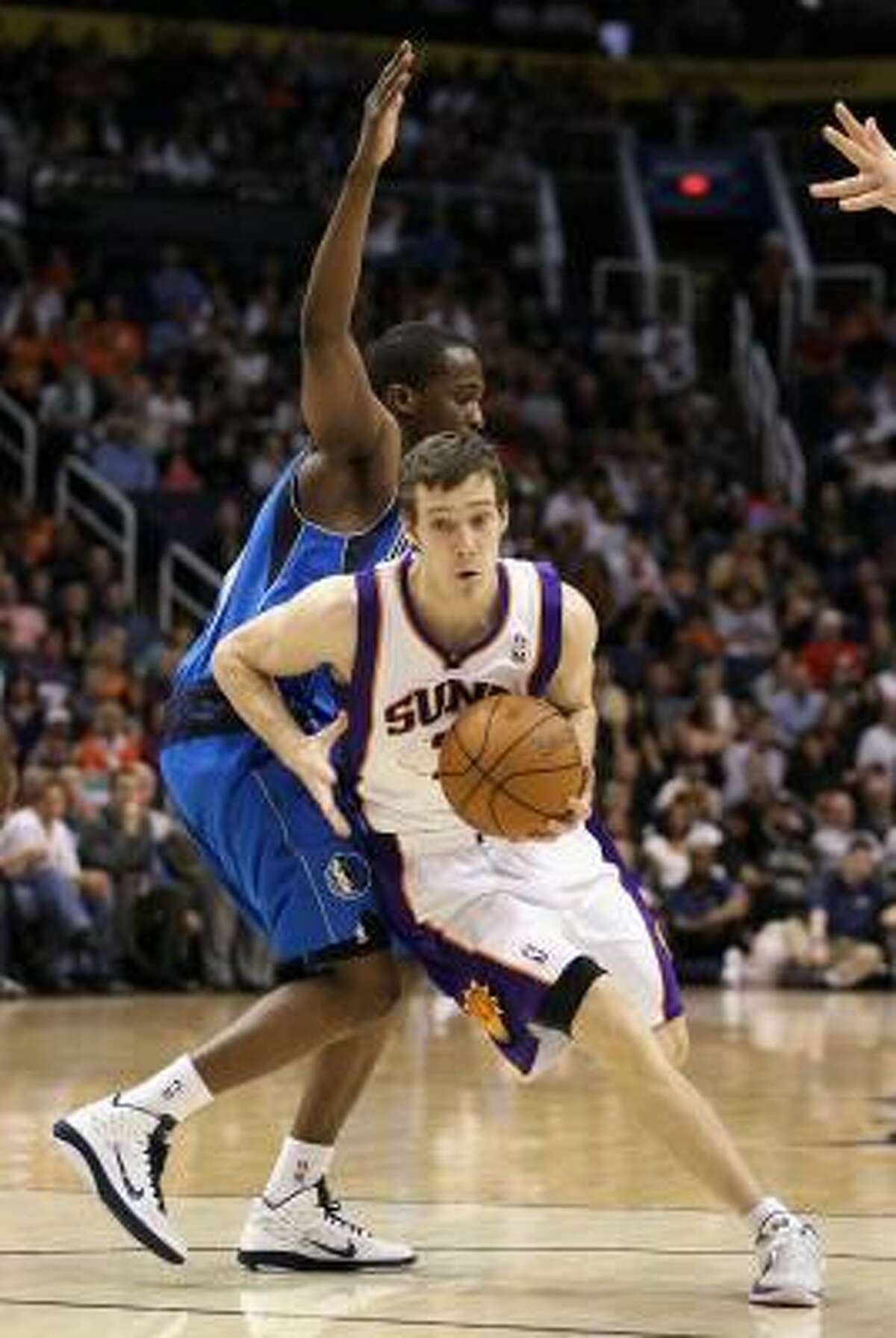 Goran Dragic, guard Dragic averaged 7.4 points and 3.1 assists in 48 games for the Suns this season.
