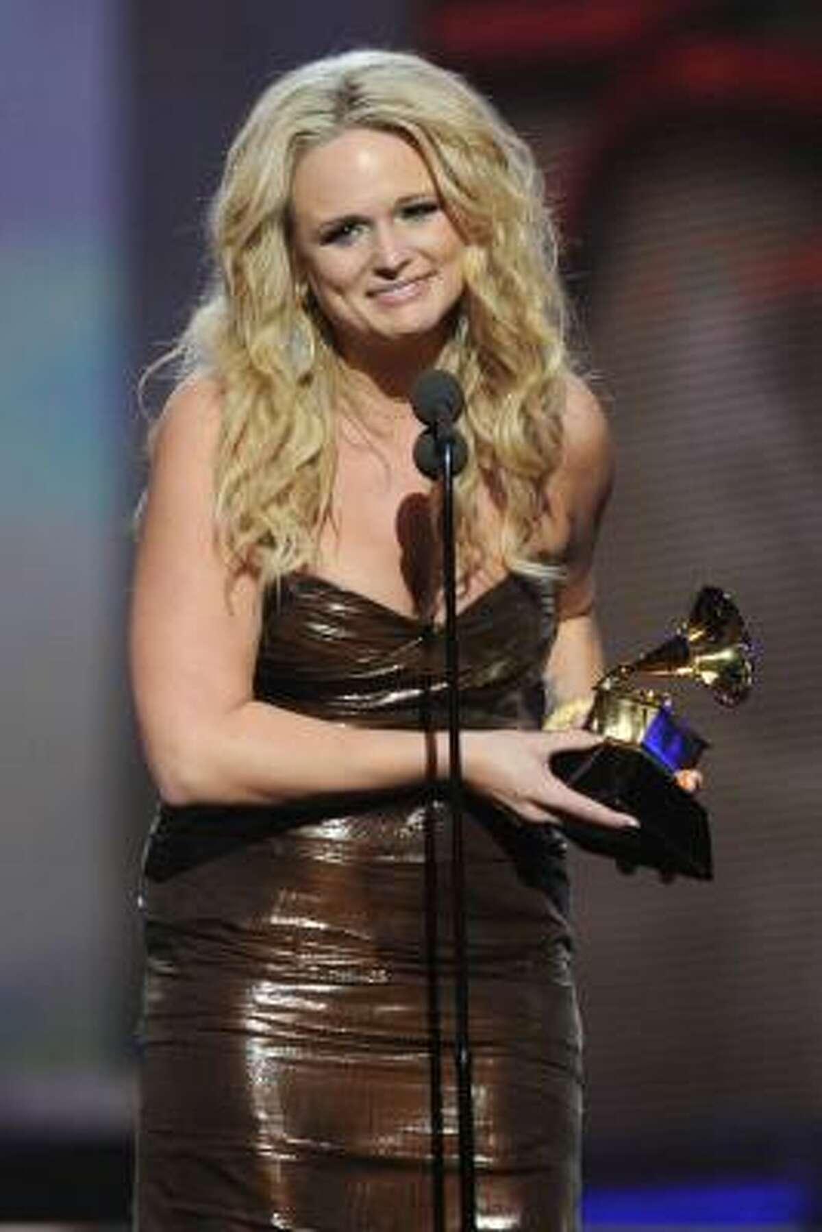 Miranda Lambert Best Female Country Vocal Performance