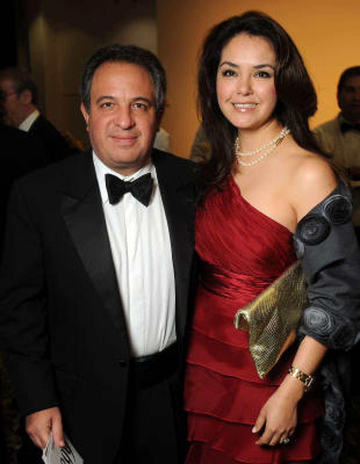 Cristine and Jose Gonzalez-Blanco