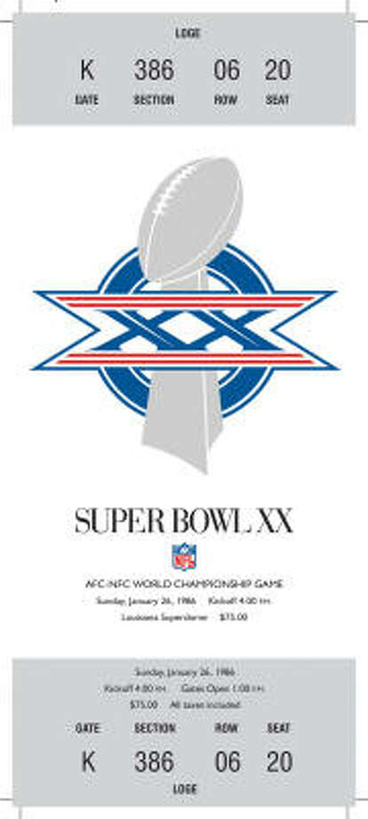 Super Bowl XXDate:Jan. 26, 1986 