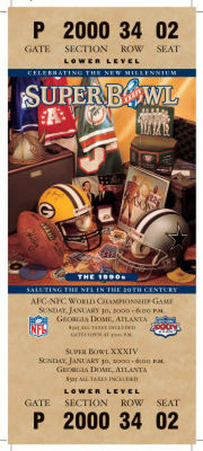 Super Bowl XXXIVDate:Jan. 30, 2000 