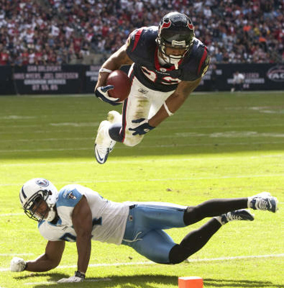 Arian Foster Position: Running back Rushing yards: 1,616