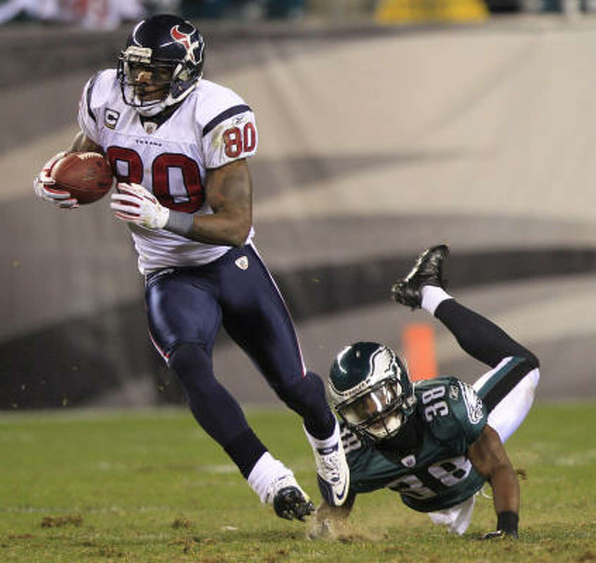 Andre Johnson Position: Wide receiver Receiving yards: 1,216