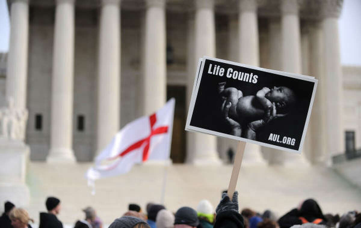 Anti-abortion groups from across the country join together for the annual March for Life.