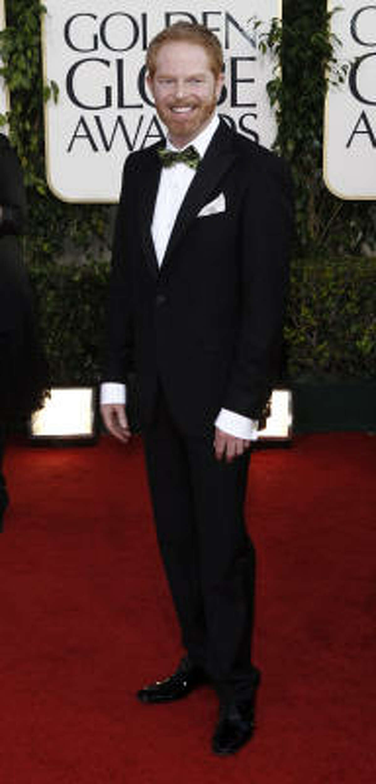 Modern Family 's Jesse Tyler Ferguson, one of our favorite gingers, was dapper in an Etro ensemble.