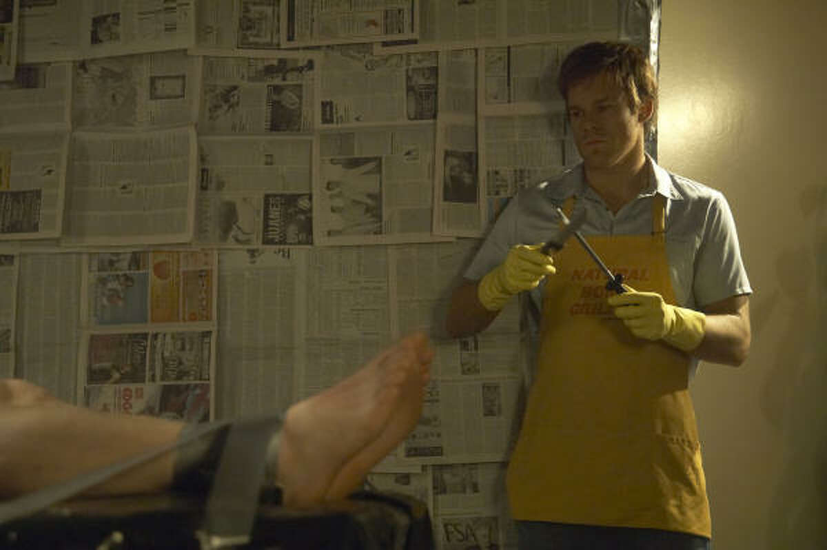 Nominee for Best TV series - Drama Dexter