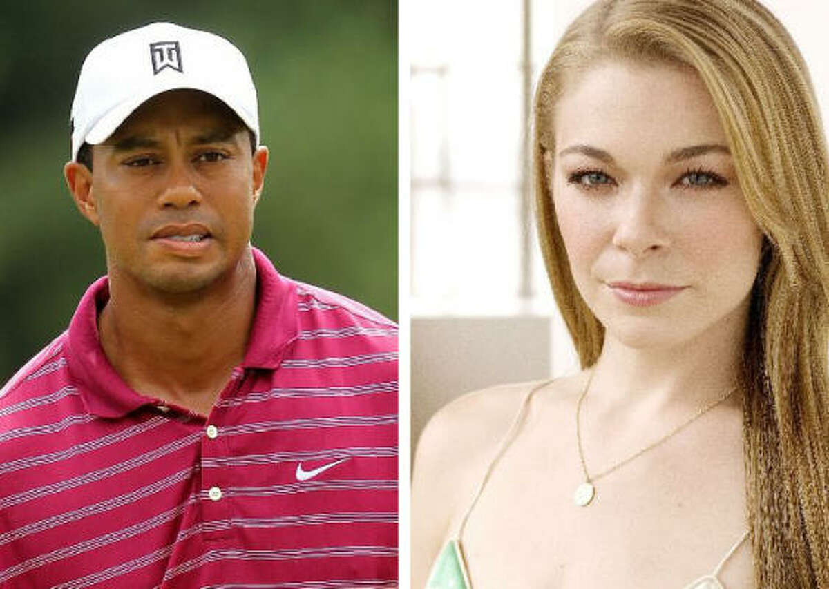 Affairs aren't the only things these two have in common. Tiger Woods and LeAnn Rimes once dated, according to USWeekly and The New York Daily News.
