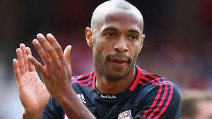 Thierry Henry (France). Henry led France to the World Cup title in 1998. During his international career, Henry earned 123 caps and scored more than 40 goals. Plays for the New Jersey Red Bulls and is one of the highest paid players in the history of the sport  (Photo by Richard Heathcote/Getty Images)