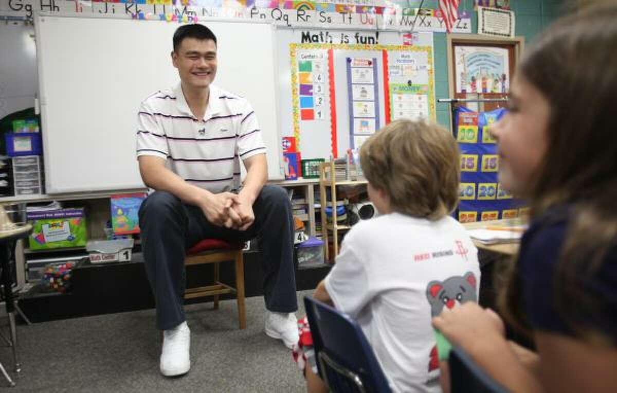 Yao Ming hasn't suited up for the Rockets in more than six months, and he has played in only five games since suffering a stress fracture in his foot in May 2009.