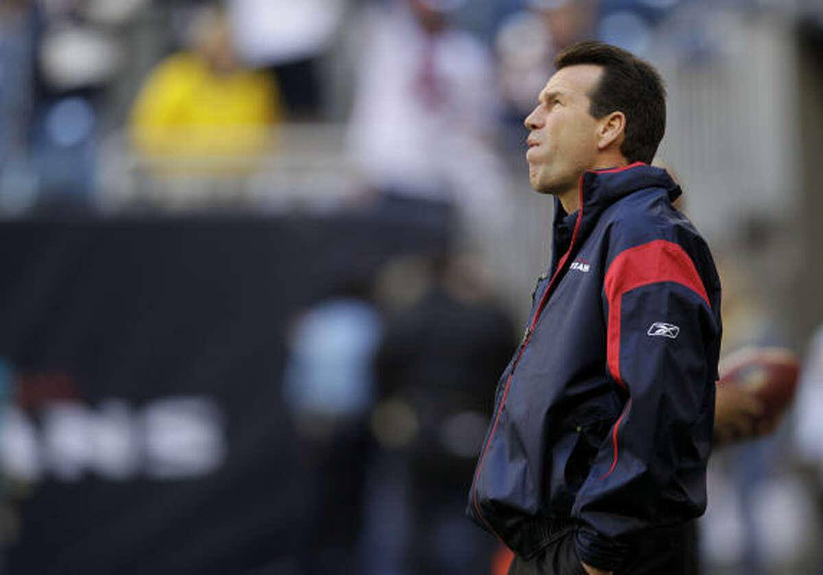 Gary Kubiak is expected to return for his sixth season but nothing will be official until he meets with Bob McNair and hears it from the owner.