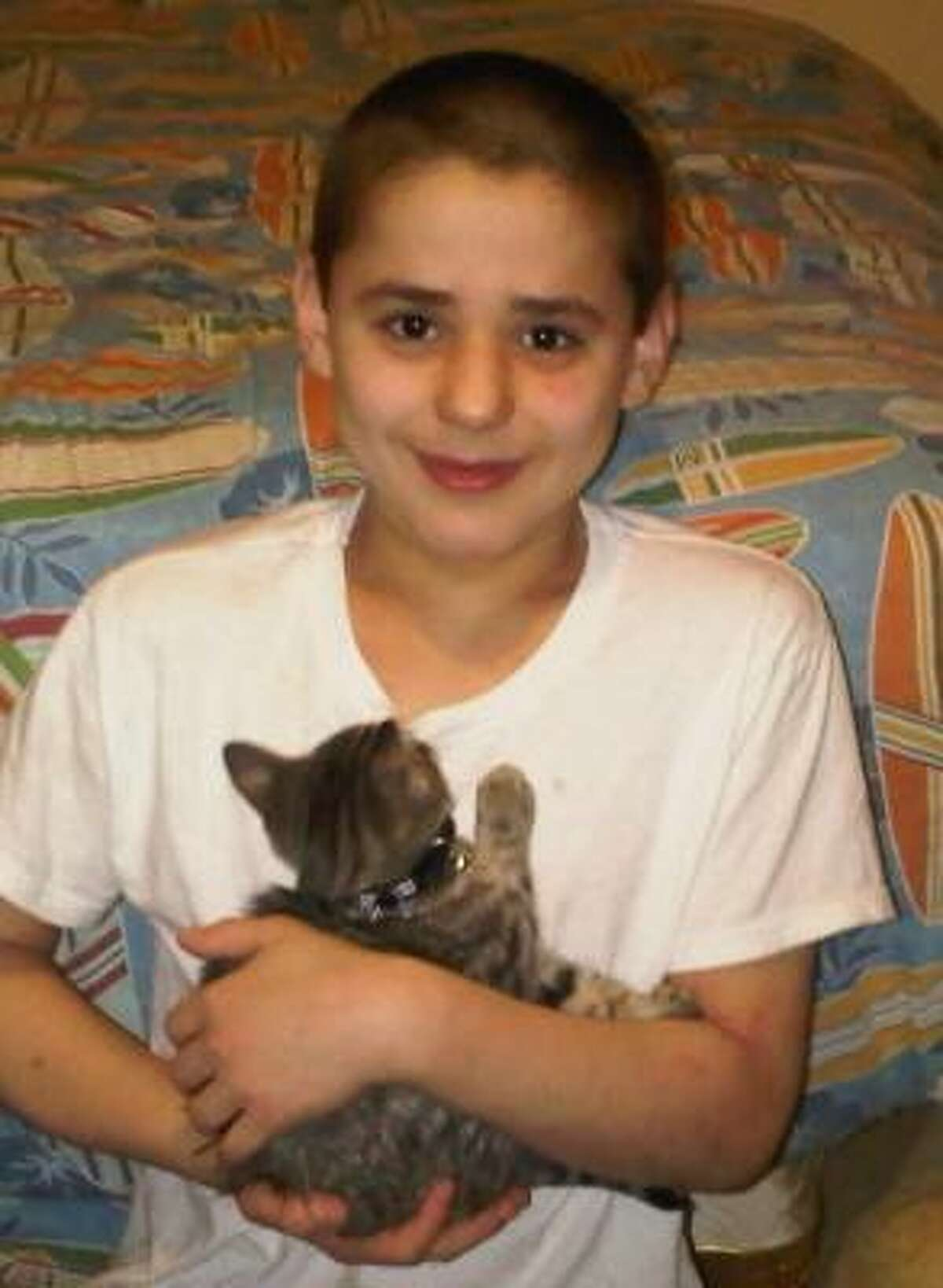Asher Brown, 13, killed himself at home in Cypress on Thursday, Sept. 23, 2010.
