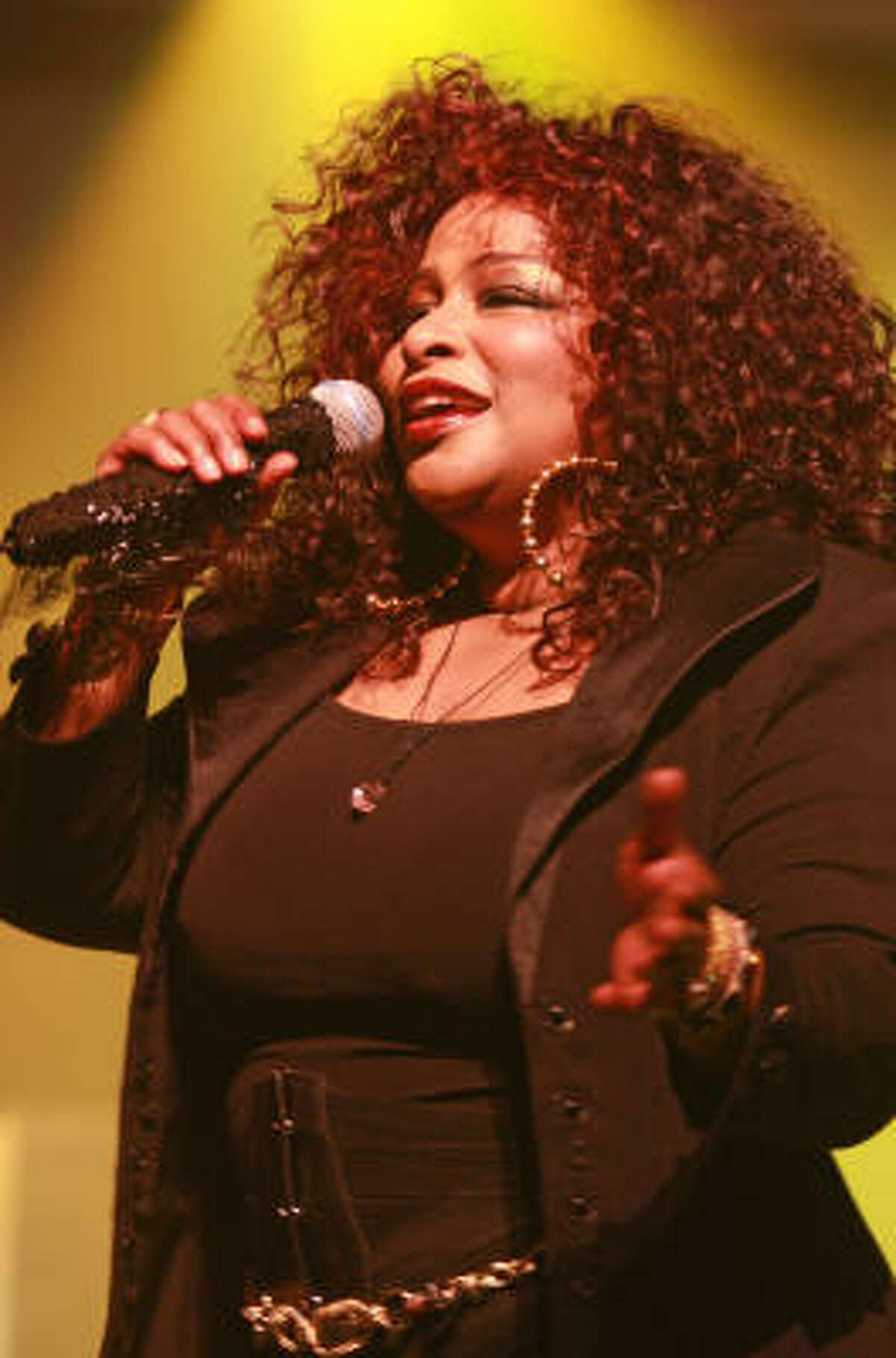 Chaka Khan performs at the Cabaret for a Cure.