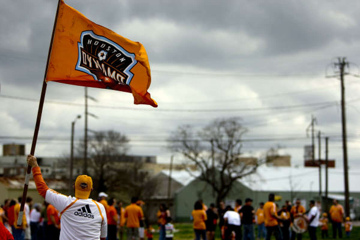 The weather should improve by Saturday, when the Dynamo will host a groundbreaking ceremony at Rusk and Bastrop from 2-4 p.m.