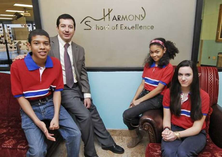 The Harmony School of Science on West Airport near Eldridge in Fort Bend  County is nearing completion. The school will be opening to students for  the ...