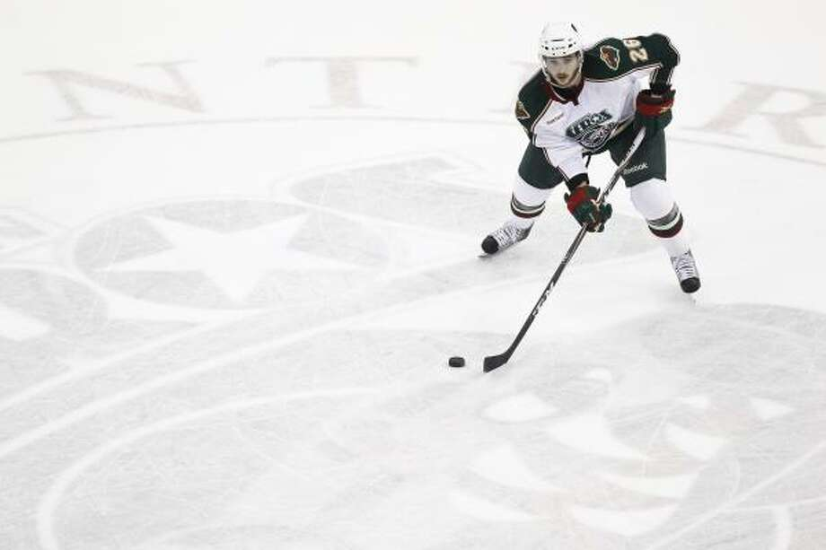 Maxim Noreau was fifth in the AHL in scoring by defenseman during the regular season. Photo: Michael Paulsen, Chronicle