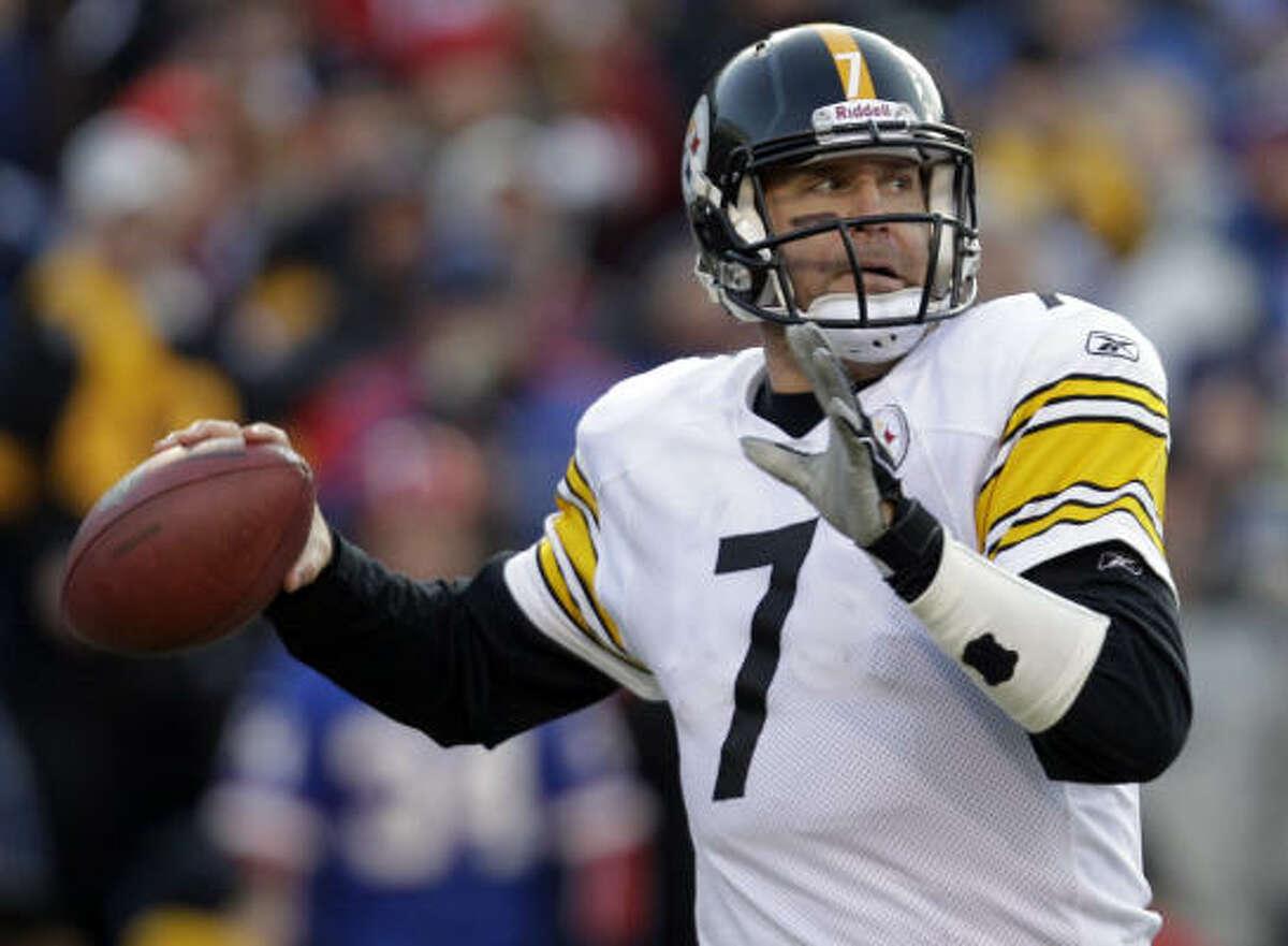 Ben Roethlisberger Pittsburgh Steelers 2 - XL, XLIII