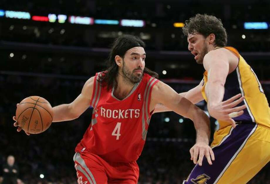 Rockets power forward Luis Scola is averaging 19.3 points and 8.5 rebounds a game this season. Photo: Jeff Gross, Getty Images