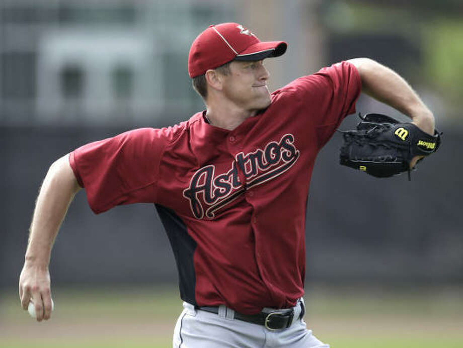 Lance Pendleton has enjoyed success in the minor leagues the past three seasons after his professional career was interrupted by elbow surgery. Photo: Karen Warren, Chronicle