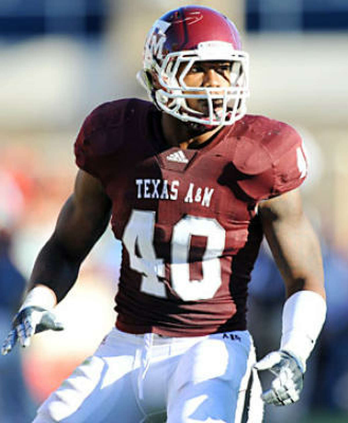 Texas A&M outside linebacker Von Miller would fill the Texans' biggest need, but they likely would have to move into the second spot to guarantee getting him.