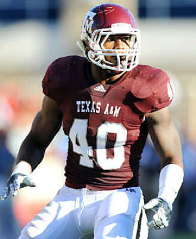 hot sale online c177f 18fdb Texas A&M outside linebacker Von Miller would fill the ...