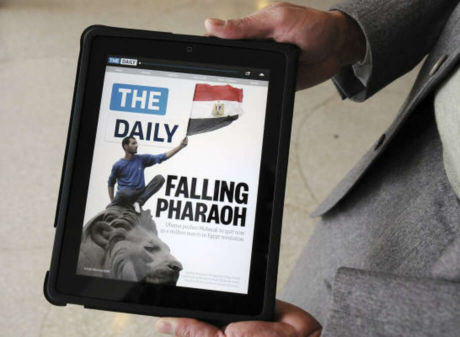 The digital news product plays to the iPad's strength with a fine dislplay. Photo: Jonathan Fickies:, Bloomberg