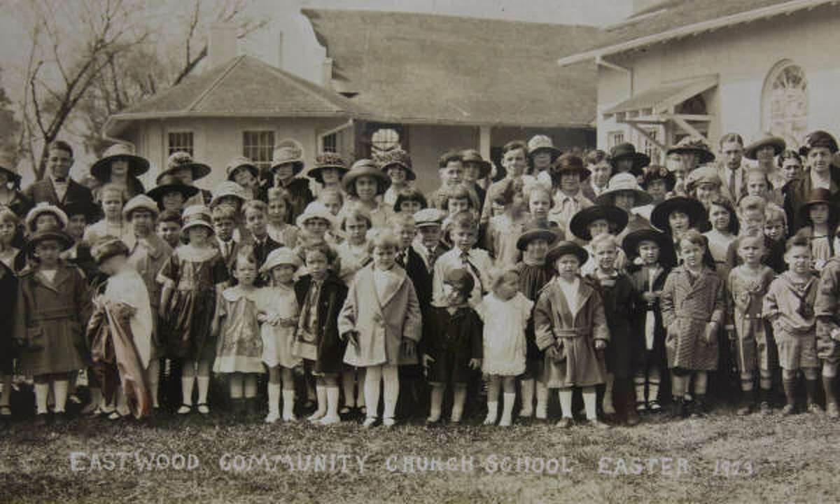 The congregation of the Church of the Redeemer poses for a photo on Easter in 1923. The Easter photo became a tradition.